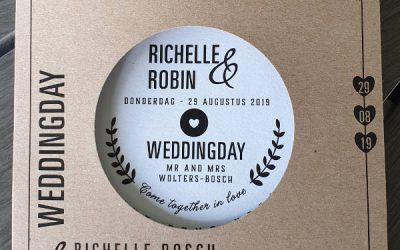 Bruiloft Richelle en Robin